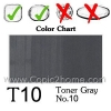 T10 - Toner Gray No.10