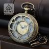 ชุดนาฬิกาถวายพระลายฉลุดอกบัวสีทองเหลือง (พร้อมส่ง)