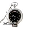 ***สั่งทำ**นาฬิกาพกกลไกออโตเมติกสีเงิน/ดำ ระบบฟังชั่นบอกสัปดาห์และวันที่