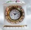 นาฬิกาตั้งโต๊ะลายกุหลาบ