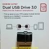Sandisk Flashdrive OTG Ultra Dual Drive 128GB USB3.0 150MB/s (SIS/Synnex)