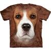 The Mountain Big Face Beagle Dog T-Shirts