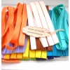 ผ้ากุ๊นผ้าพื้นคอตตอน( 1 โหล~1จำนวน) คละสีหรือสีเดียว ถ้าพับครึ่งกว้าง 0.5 cm 1 แพคมี3 หลาค่ะ