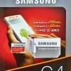 Samsung MicroSD EVO Plus 64GB U3 ประกันศูนย์ Samsung 10ปี