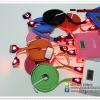 สายชาร์จ iPhone4/4s มี ไฟหัวใจ ยาว 2 เมตร