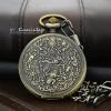 นาฬิกาพกล็อตเก็ต ฝาทึบลายจิตรกรรมอิยิปต์ Size L (พร้อมส่ง)