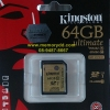 Kingston SD Ultimate 64GB 90MB/s (600X)(Synnex/ABT)