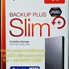 "Seagate Backup Plus Slim 1TB 2.5"" (Silver) USB3.0 (STDR1000301)"