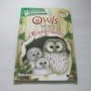 Owls โลกน่ารู้ของ ฮ.นกฮูกตาโต Sarah Courtauld เขียน***สินค้าหมด***