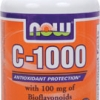 Now Foods - Vitamin C-1000 mg with Bioflavonoids 100 Capsules