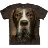 Big Face German Short Haired Pointer Dog T-Shirts