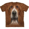 Big-face Basset Hound Dog T-Shirts