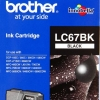 BROTHER INK CARTRIDGE LC-67BK สีดำ