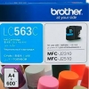 BROTHER INK CARTRIDGE LC-563C สีฟ้า