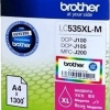 BROTHER INK CARTRIDGE LC-535XLM สีแดง