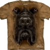 The Mountain Big Face Mastiff Dog T-shirts