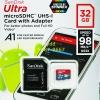 MicroSD Sandisk Ultra 32GB 98MB/s ประกันศูนย์ 10ปี