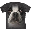 The Mountain Big Face French Bulldog T-Shirts