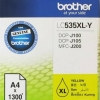 BROTHER INK CARTRIDGE LC-535XLY สีเหลือง
