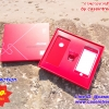 Case Iphone Red Gift Set Box