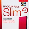 "Seagate Backup Plus Slim 1TB 2.5"" (Red) USB3.0 (STDR1000303)"