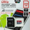 MicroSD Sandisk Ultra 200GB 100MB/s ประกัน Synnex 10ปี
