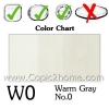 W0 - Warm Gray No.0