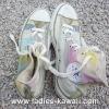 รองเท้า Converse สีคัลเลอฟูล ฟรุ๊งฟริ๊ง Size 39