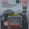 Sandisk CF Ultra 16GB 50MB/s (333X)(SIS/Synnex)
