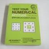คู่มือทดสอบความถนัดด้านตัวเลข (Test Your Numerical Aptitude) พิมพ์ครั้งที่ 2 Jime Barrett เขียน รัชนี เอนกพีระศักดิ์ แปล***สินค้าหมด***
