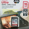SD Sandisk Ultra 16GB 80MB/s (533X) (SDSDUNC_016G_GN6IN)