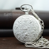 นาฬิกาพกฝาทึบล็อตเก็ต Ancient Egypt สีเงิน Silver (พร้อมส่ง)