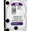 "WD Internal 2TB Purple SATA 3.5"" CCTV Harddisk (WD20PURX)"