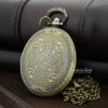 นาฬิกาสร้อยคอล็อคเก็ตทรงวงรี Antique Brass Oval- Size M (พร้อมส่ง)