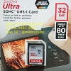 Sandisk SD Ultra 32GB 80MB/s (SIS/Synnex)