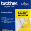 BROTHER INK CARTRIDGE LC-38Y สีเหลือง