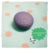 BPVC4 : กระดุมปั๊มผ้าหนังสีม่วง ขนาด 1.5 cm ราคาต่อ 1/2 โหลค่ะ