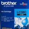 BROTHER INK CARTRIDGE LC-38C สีฟ้า