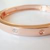 กำไล Cartier สี Pink Gold เพชร 4 เม็ด