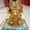 พระสังกัจจายน์ชูก้อนทองบนฐานแก้ว(2)