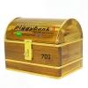 กระปุกถังออมสินแบบกำปั่นสายยูคาดทอง ขนาด 7 นิ้ว