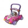 รถผลักเดินตุ๊กตาดนตรี ปรับหนืดได้ สีชมพู