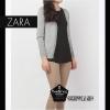 """Free size เสื้อคลุมแขนยาวZara สีเทาอ่อน ผ้านิ่มมากกก อันนี้ นำเสนอ จ้า สวยใส่สบาย อก 36"""" ยาว 24"""" (เสื้อคลุมพร้อมส่ง)"""