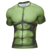 เสื้อสกรีน 3D T-Shirt สีเขียว Hulk