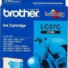 BROTHER INK CARTRIDGE LC-57C สีฟ้า