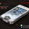 เคส iPhone 4/4s กรอบเพชร (เพชรคลุมปุ่ม Home)