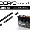 Limited Edition Copic Sketch 25th Anniversary Set!!