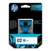 HP INK 02 CYAN สีฟ้า