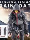 (พร้อมส่ง) เสื้อ-กางเกง กันฝน สำหรับนักปั่น หรือ ขับ มอเตอร์ไซค์ Riding Rain Coat