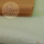 เซตผ้าขนเนื้อนิ่มสำหรับเย็บตุ๊กตาหมี - สีครีม